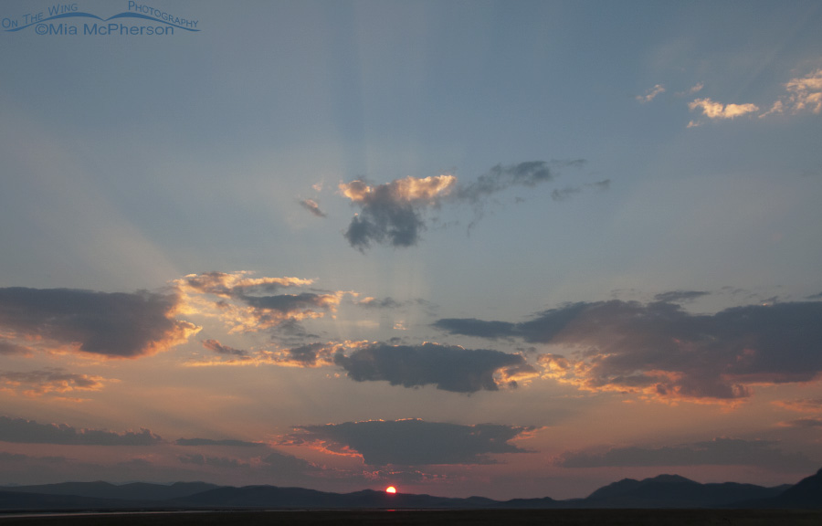 Sunrise and Crepuscular Rays at Red Rock Lakes National Wildlife Refuge
