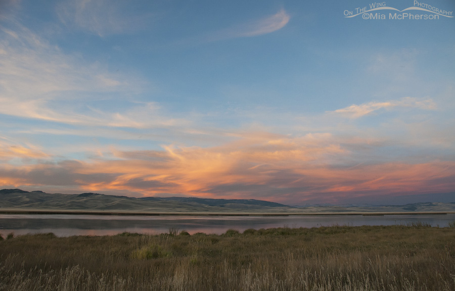 Sunset and Watercolor Skies at Red Rock Lakes National Wildlife Refuge
