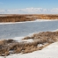 A frozen view of Bear River Migratory Bird Refuge