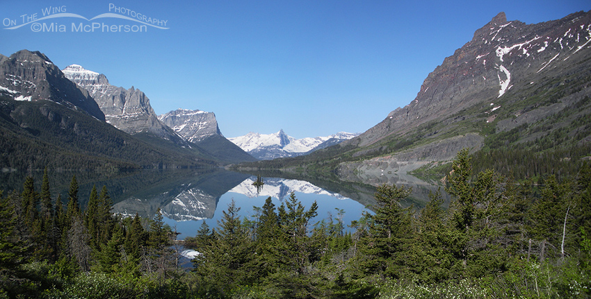 Glacier National Park - St Mary Lake