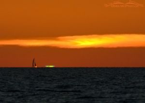 Green Flash from Fort De Soto