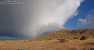 Storm over Buffalo Point