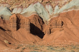 Capitol Reef National Park formations