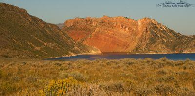 Another view of Flaming Gorge Reservoir