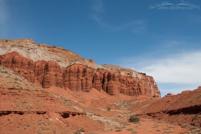 Capitol Reef NP on a clear day