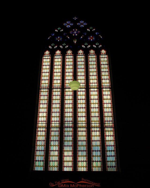 Stained Glass in the First Church of Otago