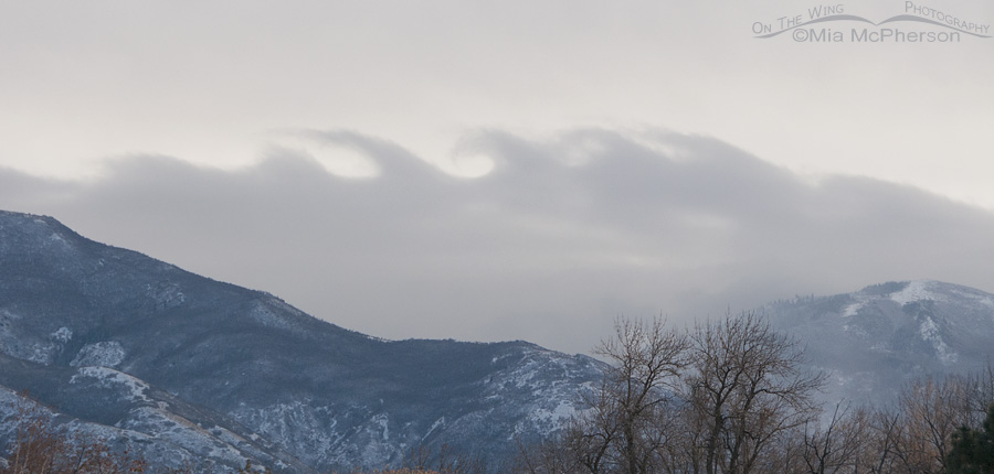 Kelvin Helmholtz instability clouds from I-15