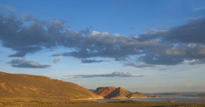 View of Flaming Gorge Reservoir