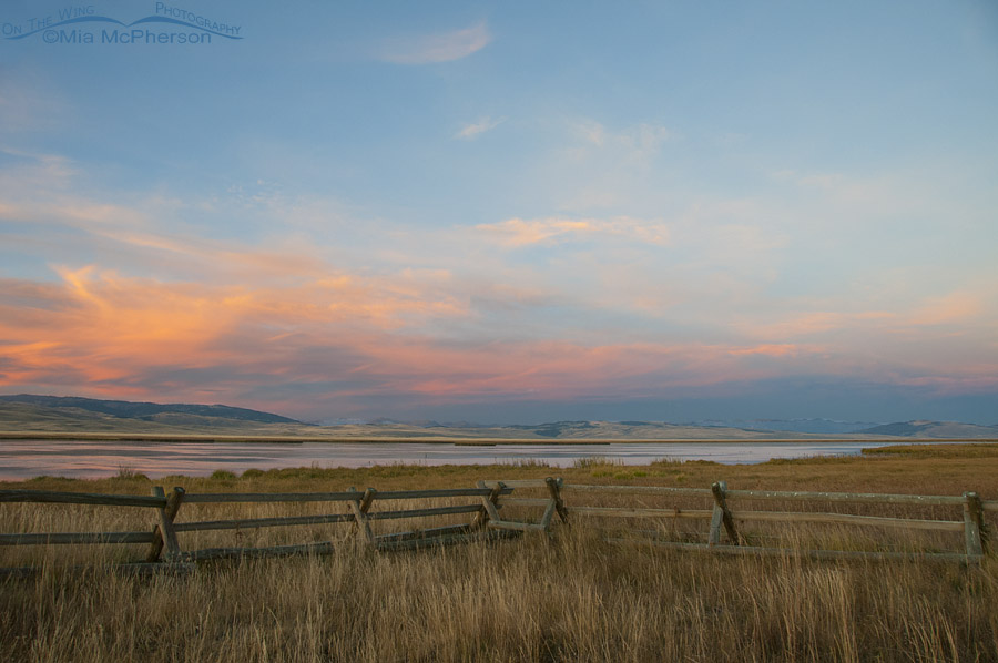 Colorful Sunset on Our Public Lands - Red Rock lakes NWR